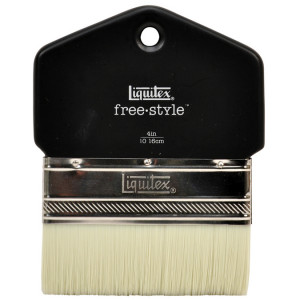 Brosse free.style palette en poils synthétiques - 25 mm