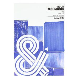 Bloc multi-techniques 180 g/m² 60 feuilles A4