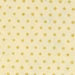 Papier Lokta Imprimé 50 x 75 cm Blanc motif Étoile or