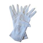Gant blanc en coton main droite taille unique