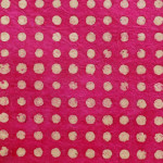 Papier Lokta 50 x 75 cm Pois fuchsia