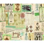 Papier Italien 50 x 70 cm 85 g/m² Couture