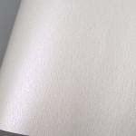 Papier Ostra imitation Cuir 68,5 x 50 cm 185 g/m² - Blanc