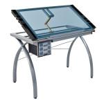 Table à dessin Futura argent