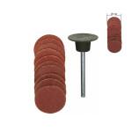 Disques abrasifs en corindon - Grain 120 et 150 Ø 10 mm - 10 pcs