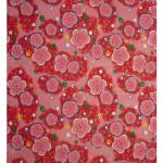 Papier Japonais 52 x 65,5 cm 100 g/m² Fleurs roses