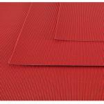 Feuille de carton ondulé 50 x 70 cm - 300 g/m² - Rose vif