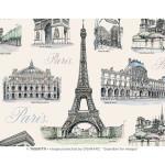 Papier Italien 50 x 70 cm 85 g/m² Paris