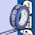 Masking Tape x Nordic countries Lisa Larson Chats 15 mm x 10 m