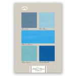 Carnet Artbook A5 14 x 21 cm 100 g/m² 240p Bleus n°12
