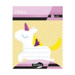 Note adhésive licorne Modou 6,2 x 7 cm 50 pcs