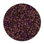 Perles Toho 11/0 metallic effet mat irisé 3g - 613 Building