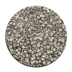 Perles Toho 11/0 plating effet brillant 3g - 701 Jaune