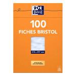 Fiche Bristol 210 g/m² A4 - 200 feuilles