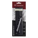 Kit 6 Crayons graphite + Gomme de précision Mono Zéro