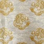 Papier Lokta Imprimé 50 x 75 cm Dragon blanc