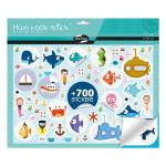 Gommette Maxi Book Stick thème Mer 700 pcs