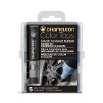 Embout Color Tops pour marqueur Chameleon 5 tons Gris