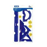 Kit de traçage Flexible Bleu 4 pcs