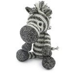 Crochet Kit Dirk le zèbre