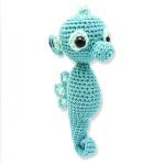 Crochet Kit Molly l'hippocampe