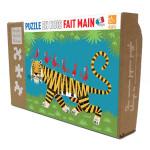 Puzzle en bois Le Tigre 24 pièces