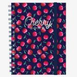 Cahier ligné à spirales cherry bomb