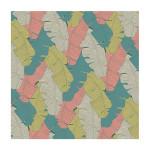 Coupon de tissu Wax imprimé Bananier bourgeon - 150 x 160 cm