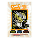 Carte à gratter Scraper or Kawaii Chien gourmand