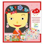Stickers des petits Tous différents