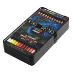 Crayon de couleur à la Cire & Huile Coffret 36 couleurs
