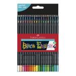 Crayons de couleurs Black edition 36 pcs