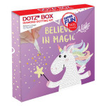 Broderie Diamant kit Dotz Box Enfant débutant Believe in magic