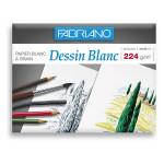 Papier Dessin Blanc 224 g/m² 24 x 32 cm 12 feuilles