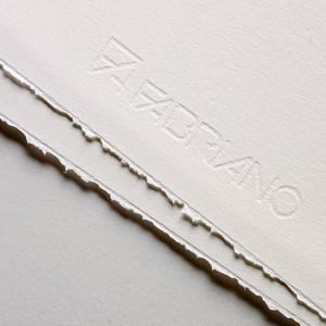 Papier impression 285 g/m² Rosapina Blanc - 70 x 100 cm