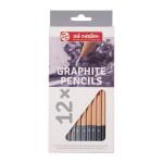 Crayons graphites x 12 pcs