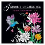 Illustrations à colorier Jardins enchantés