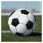 Broderie Diamant kit  débutant Ballon de foot