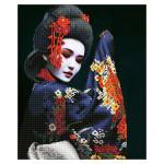 Broderie Diamant kit  intermediaire Kyoto beauty geisha