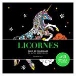 Carnet Black Premium Licornes