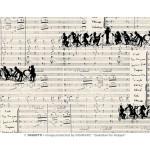 Papier Italien 50 x 70 cm 85 g/m² Orchestre